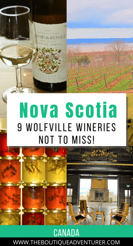 images from wineries in wolfville nova scotia