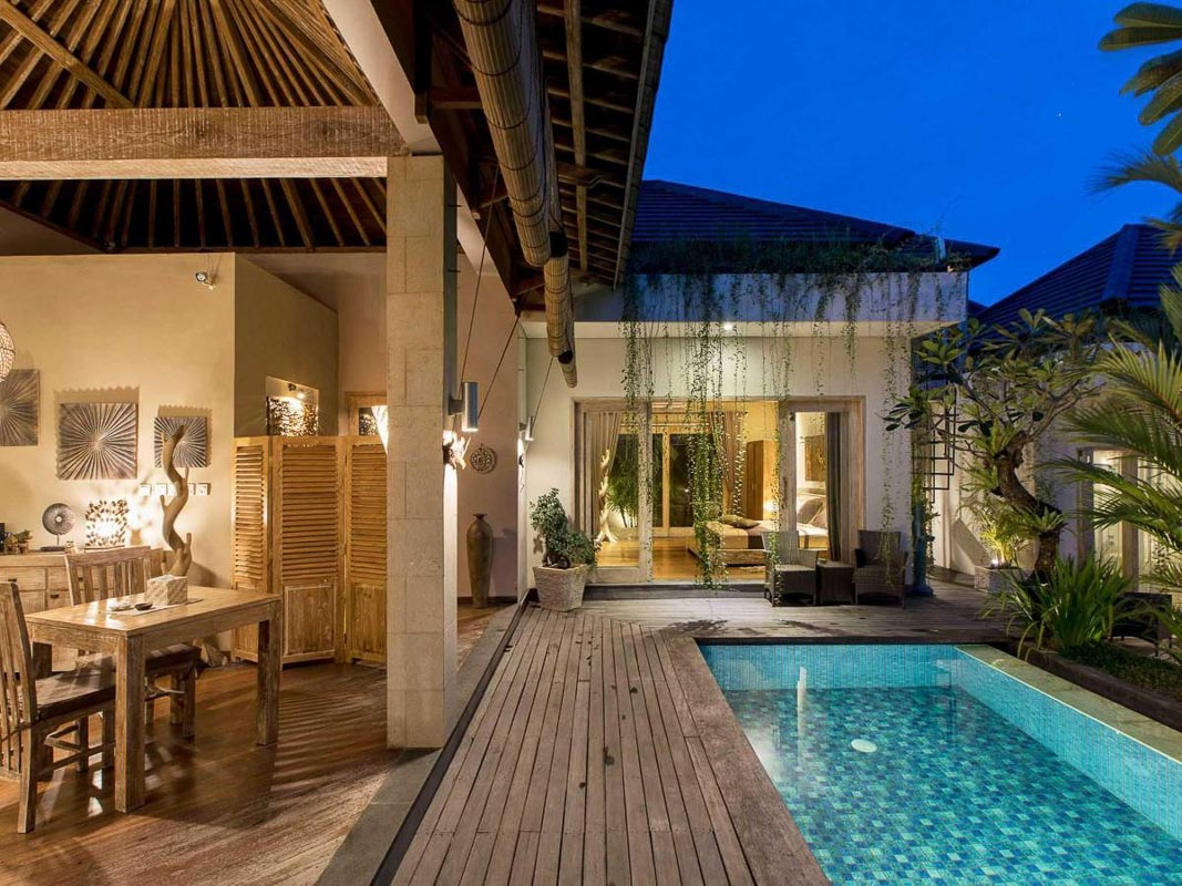 Exotica bali villa with private pool