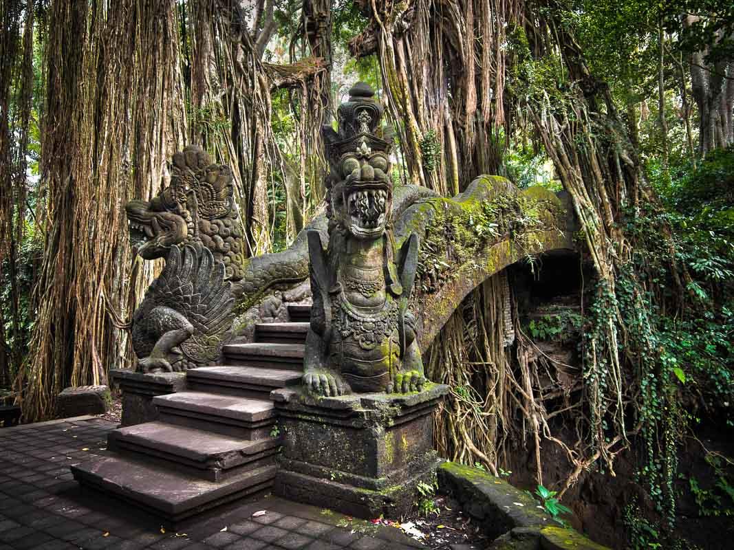 Indonesia Bali Ubud temple