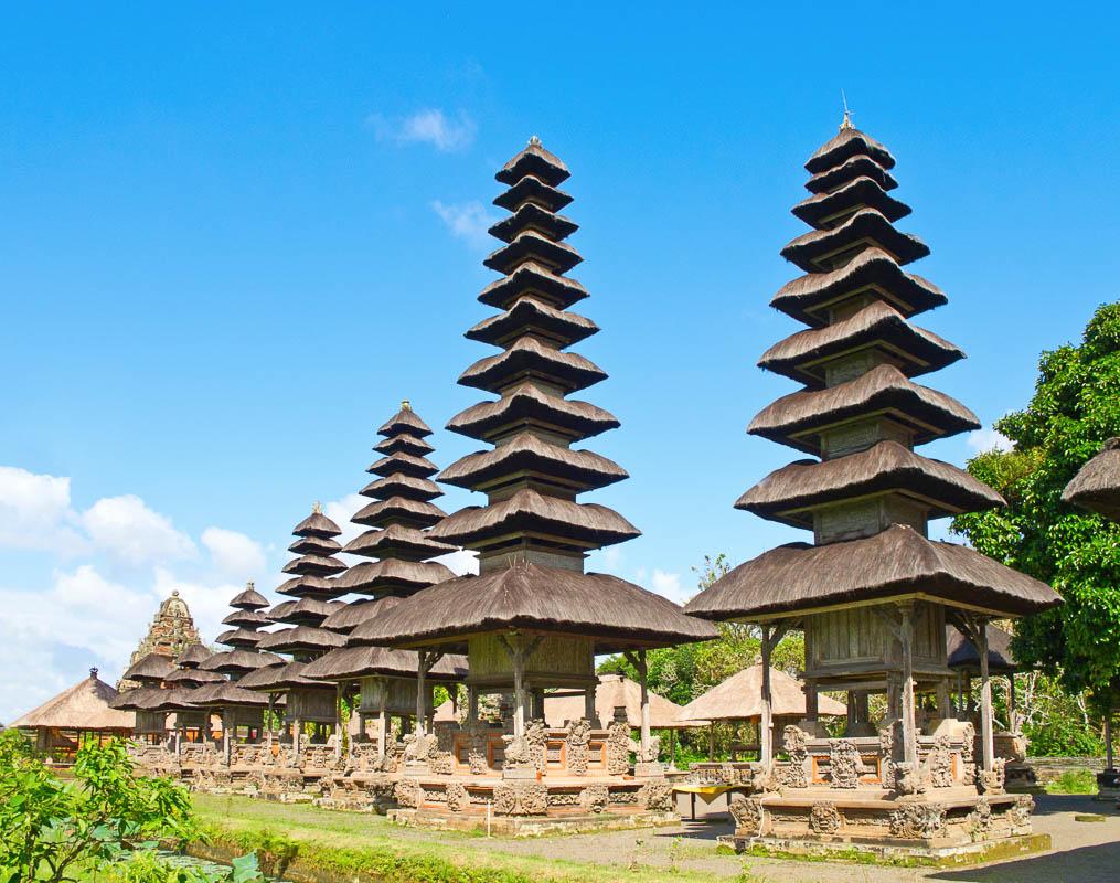 Pura Taman Ayun near Mengwi, Bali, <a class=