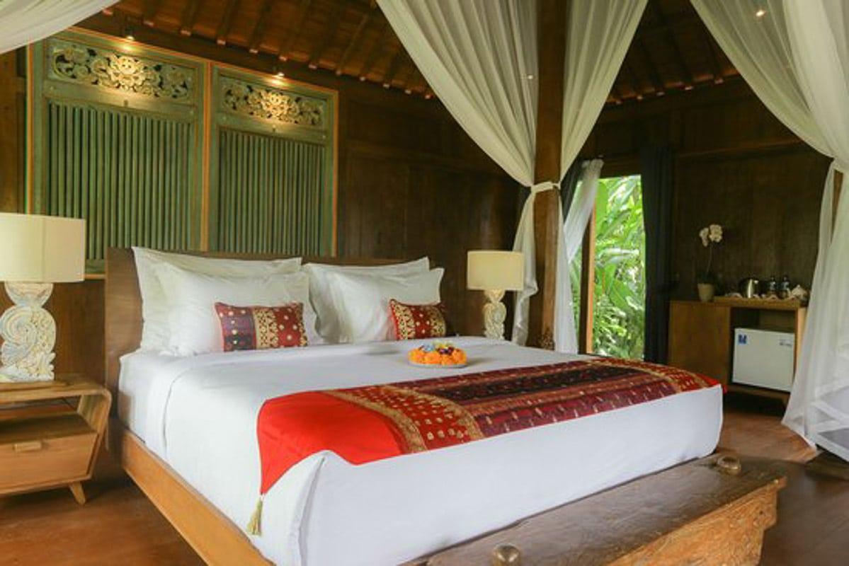Room at ubud valley boutique luxury hotel ubud bali