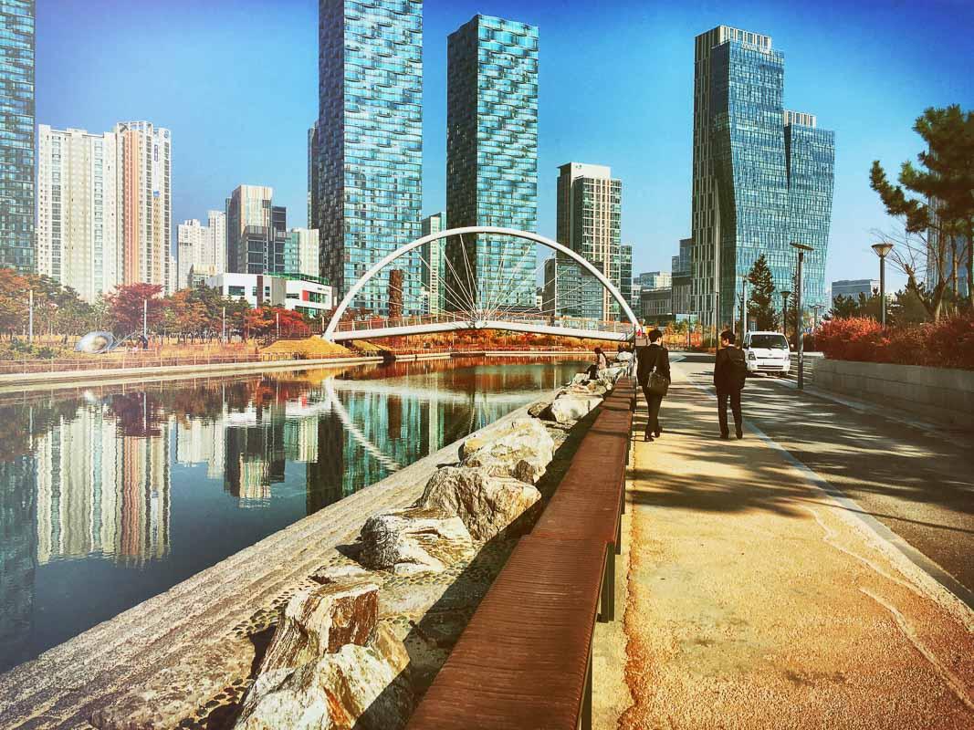 Incheon South Korea city view