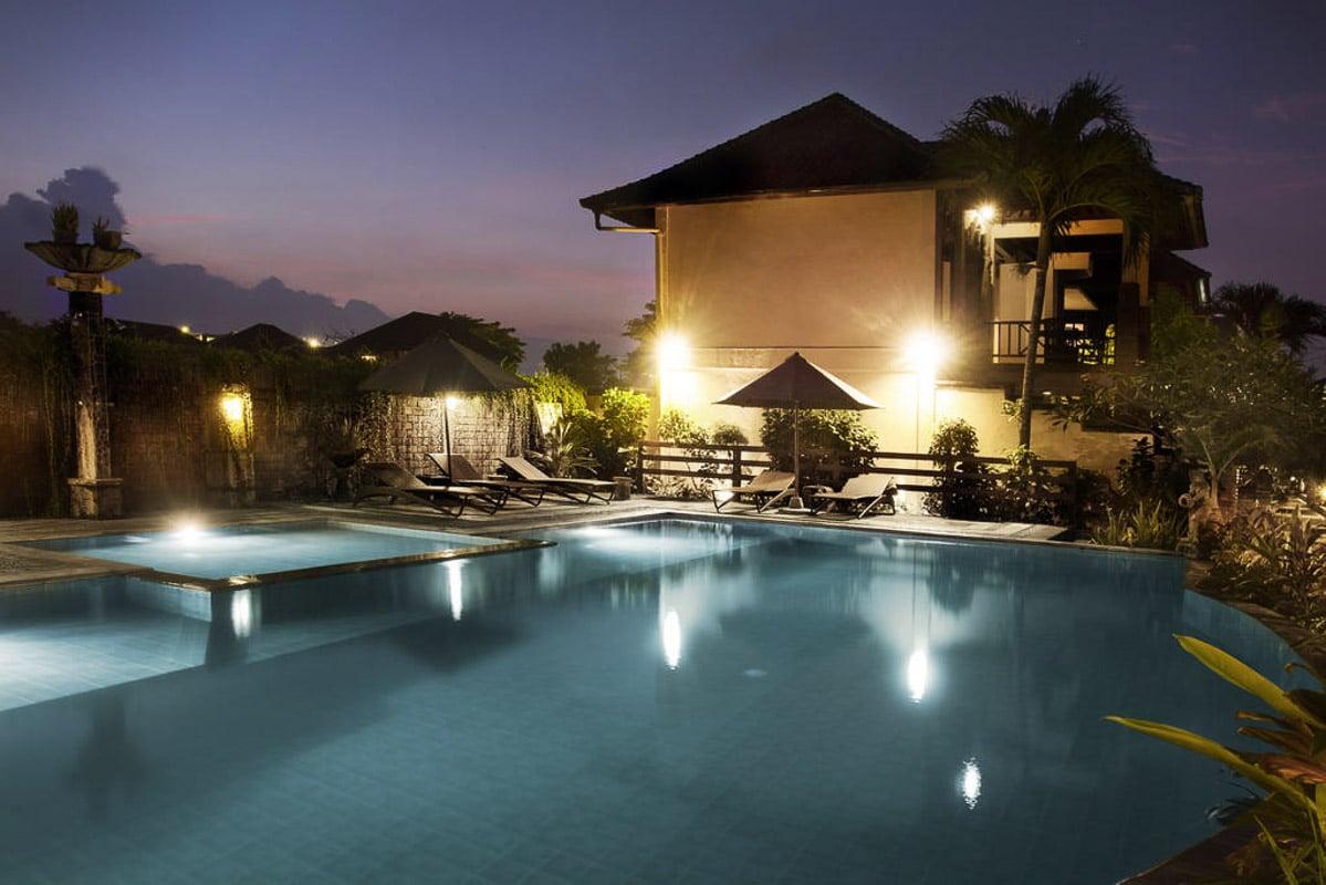 swimming pool at bali ayu seminyak bali