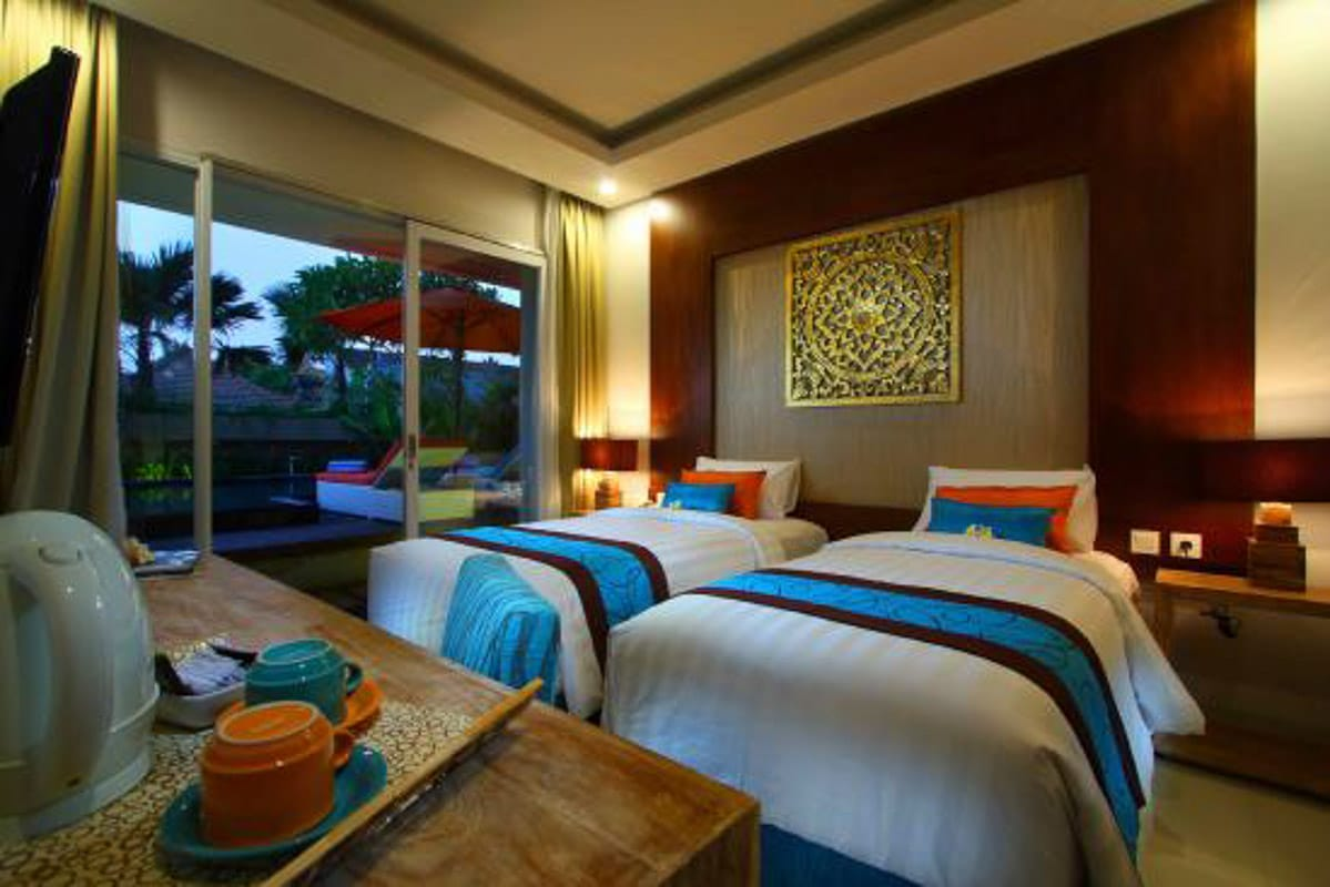 room at destiny hotel seminyak bali