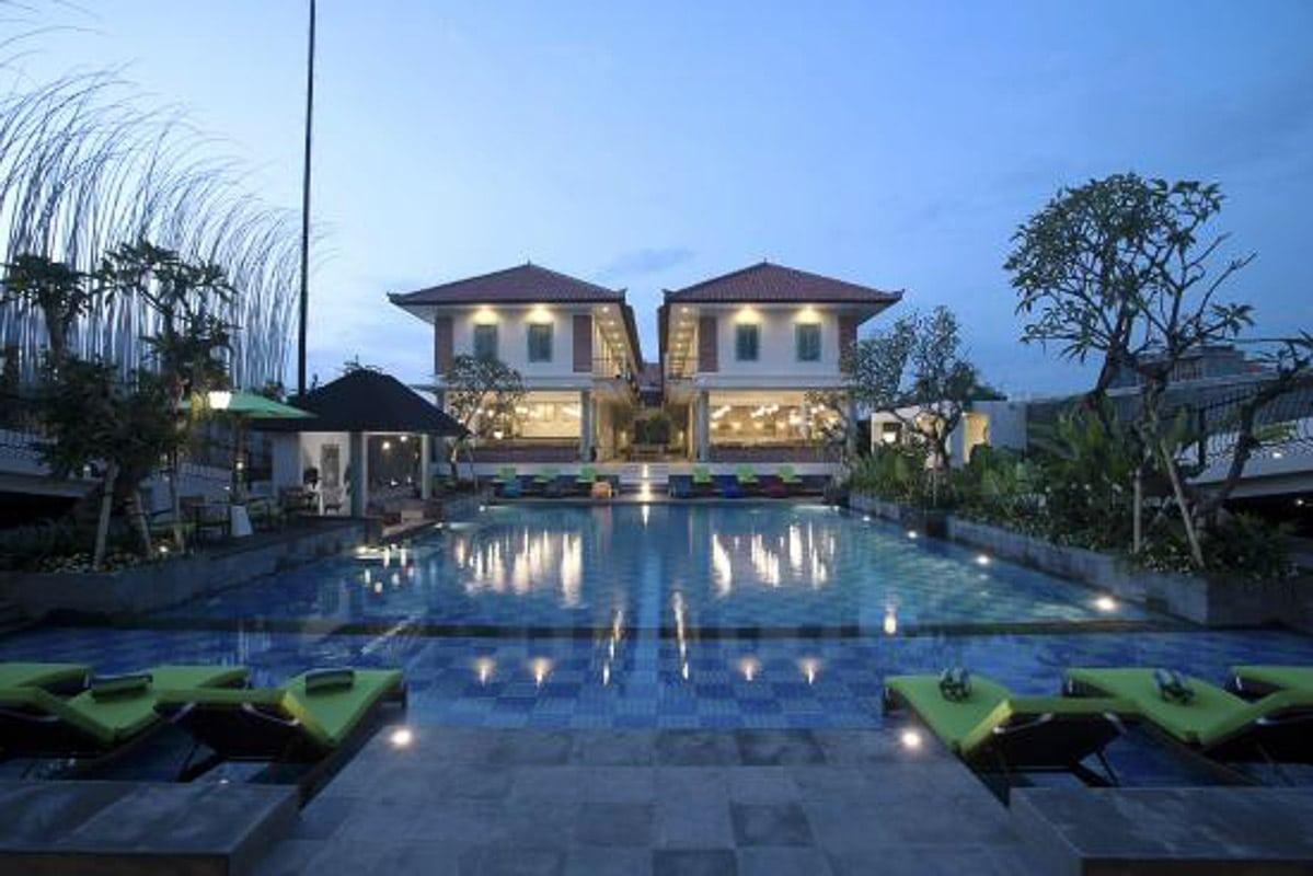 maison c seminyak hotel bali main pool