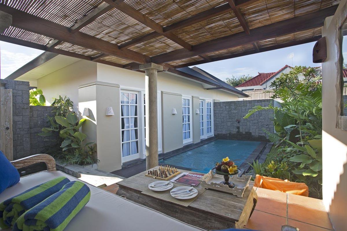 maison c seminyak hotel pool