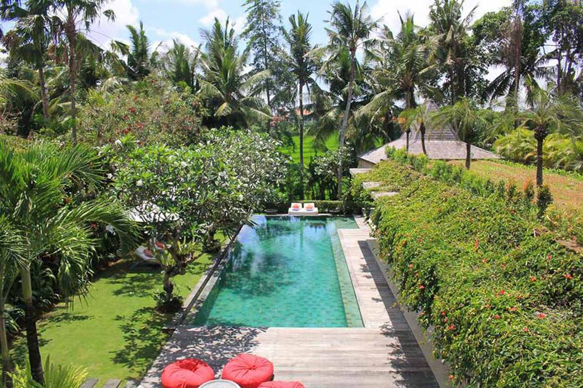 villa sally swimming pool bali indonesia