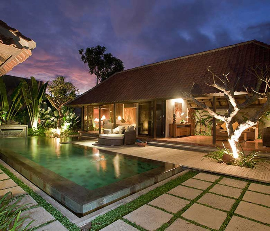 villa with private swimming pool at komea resort bali indonesia
