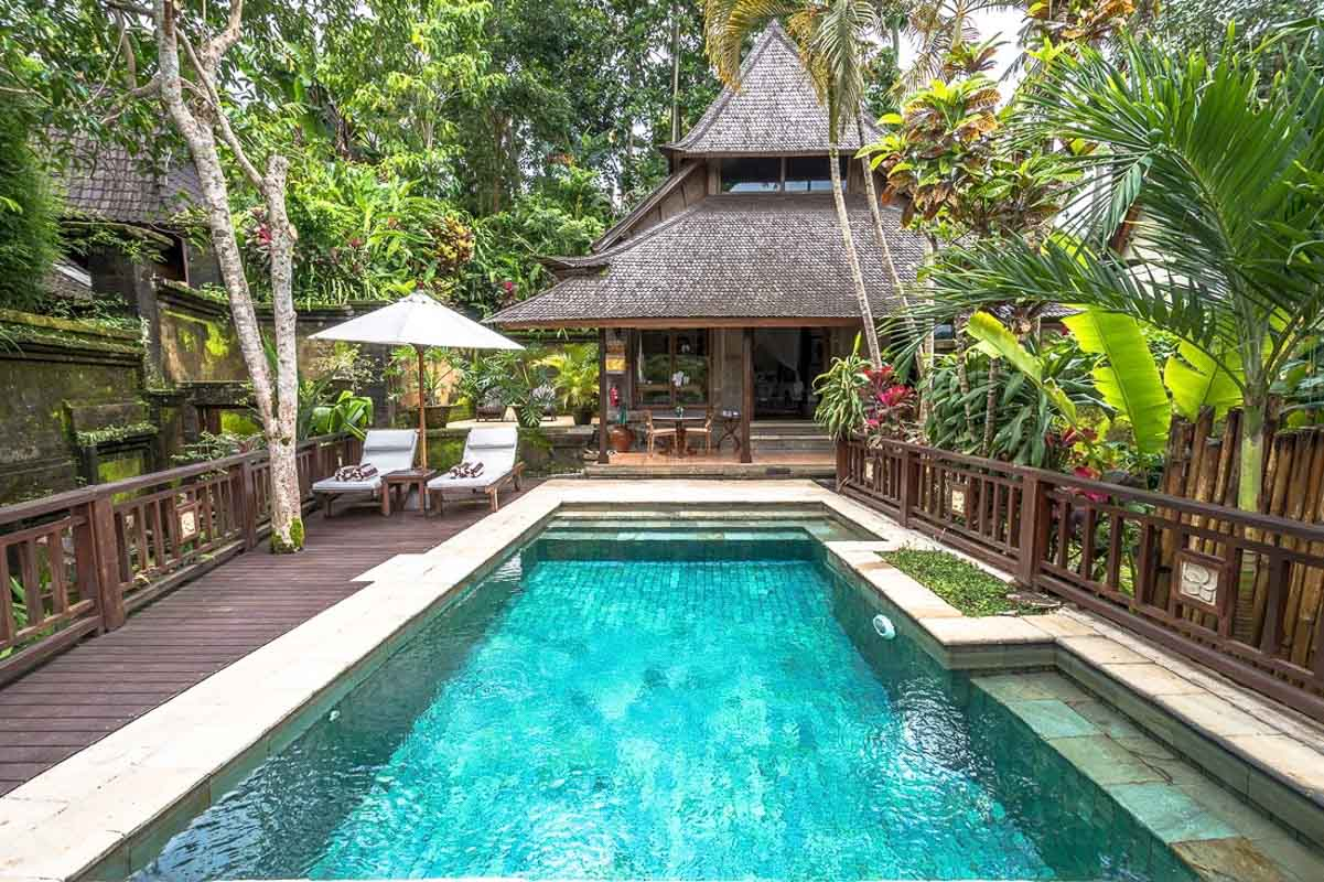 warwick hotel bali ubud swimming pool