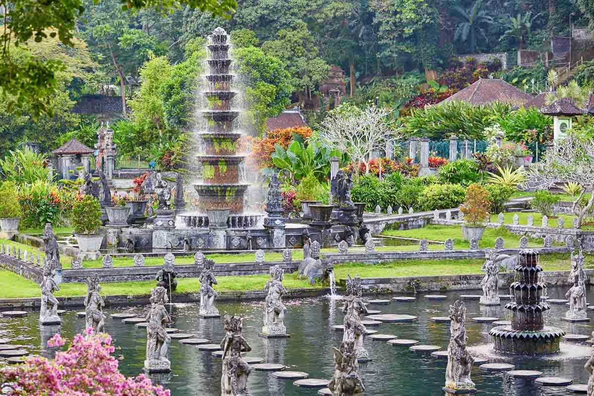 Water Palace of Tirta Gangga in East Bali