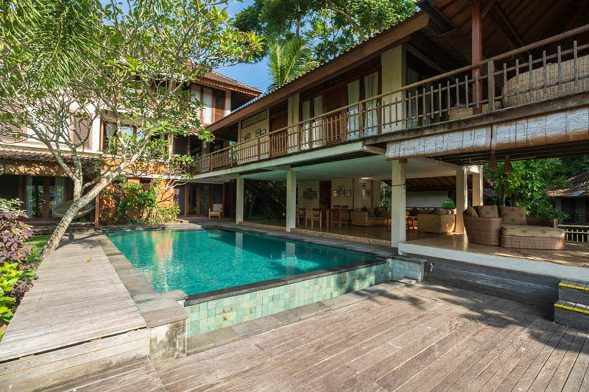pool at adiwana retreat bali indonesia