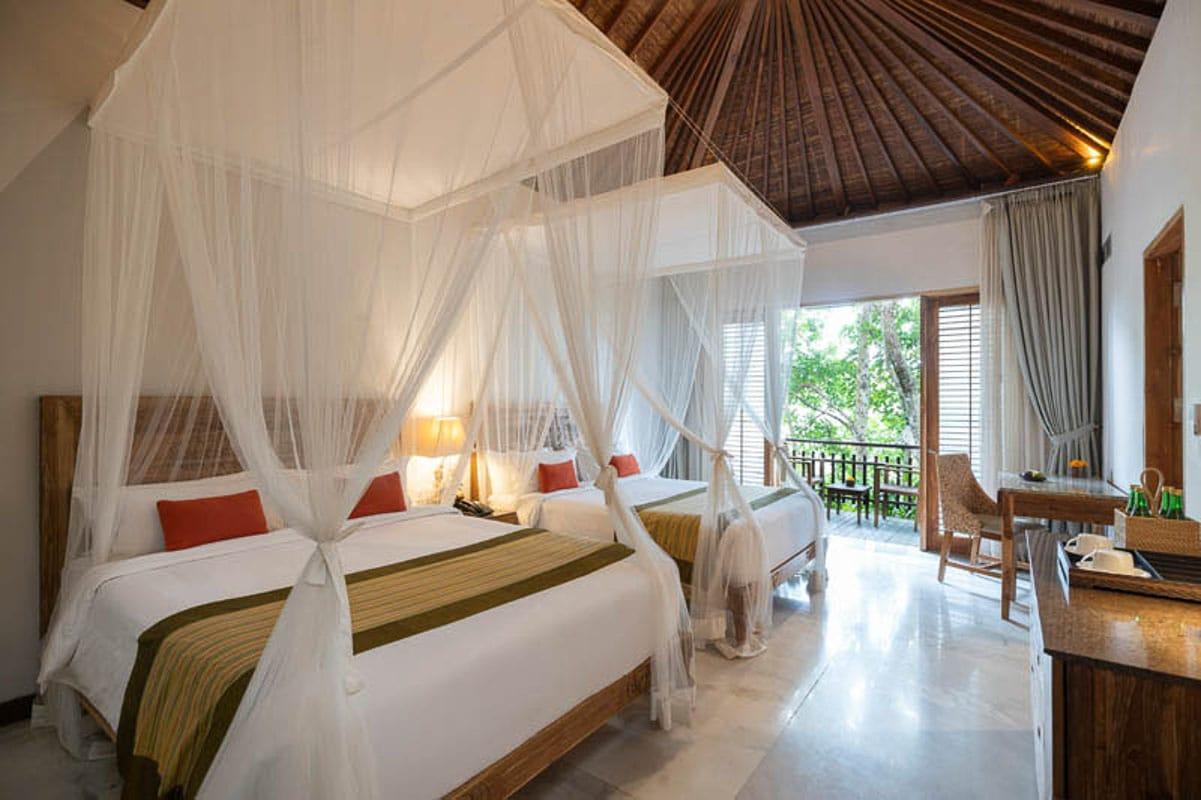 Room at Adiwana Bali Retreat for singles