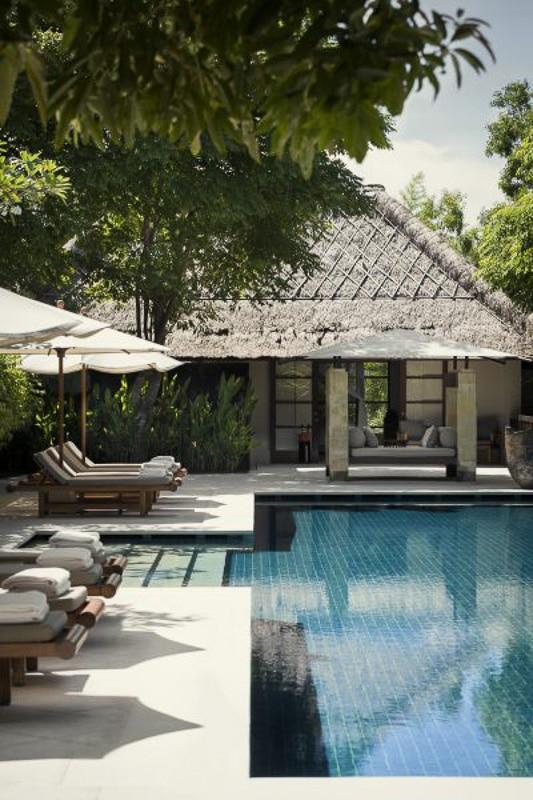 pool and loungers at revivo bali