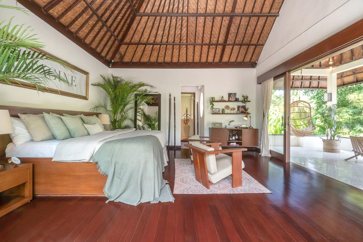 room at soulshine bali retreat
