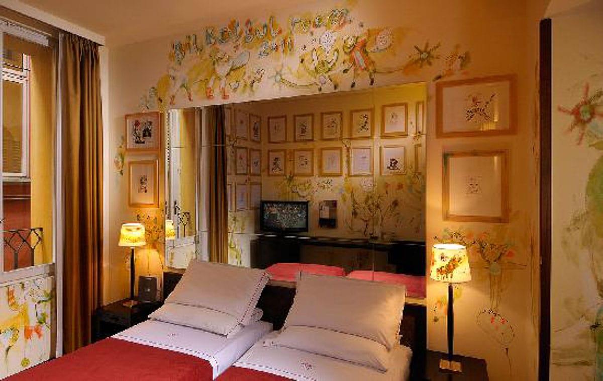 Hotel Al Cappello Rosso room