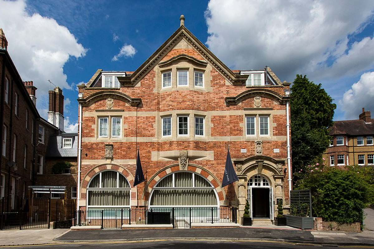 One Warwick Park Hotel exterior - one of the Kent boutique hotels