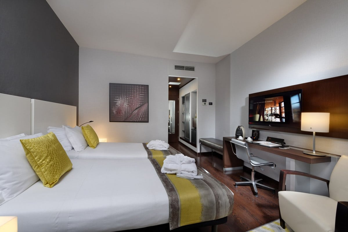 Savhotel room - one of the boutique hotels in Bologna