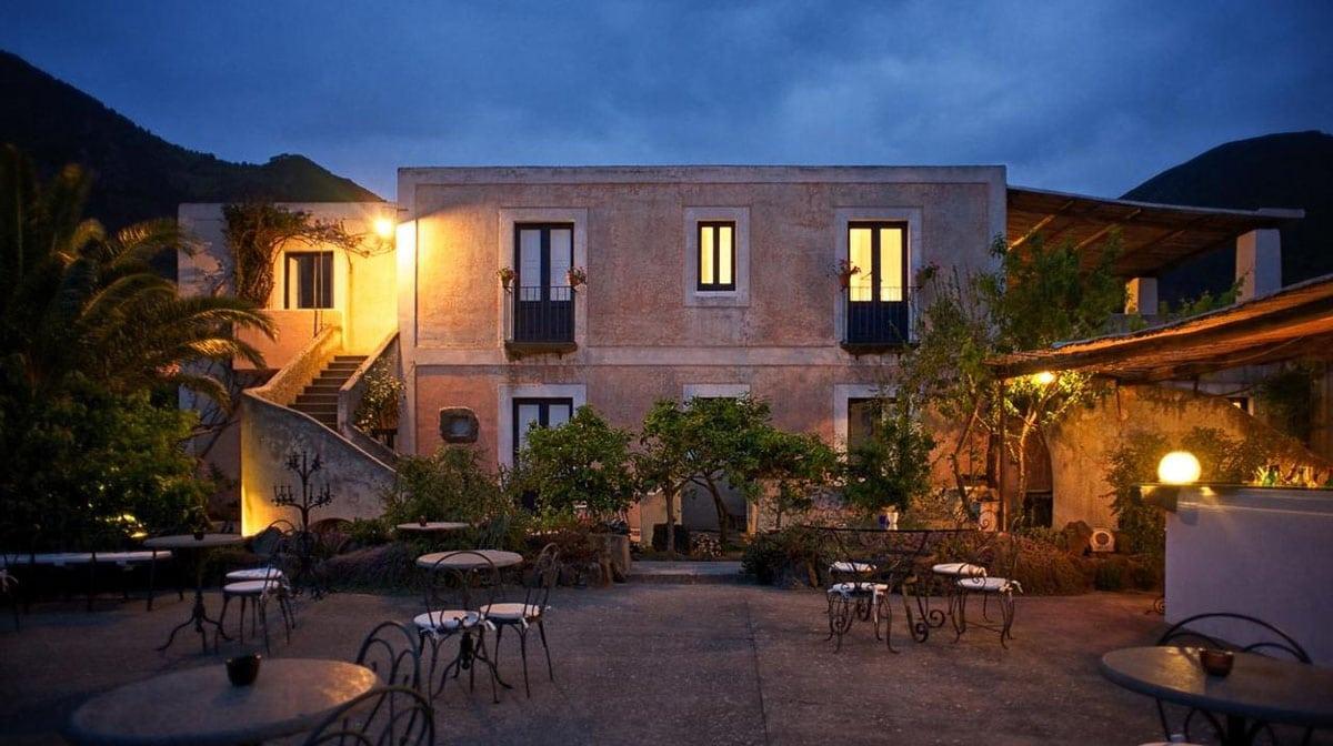 Hotel Signum on Salina Sicily