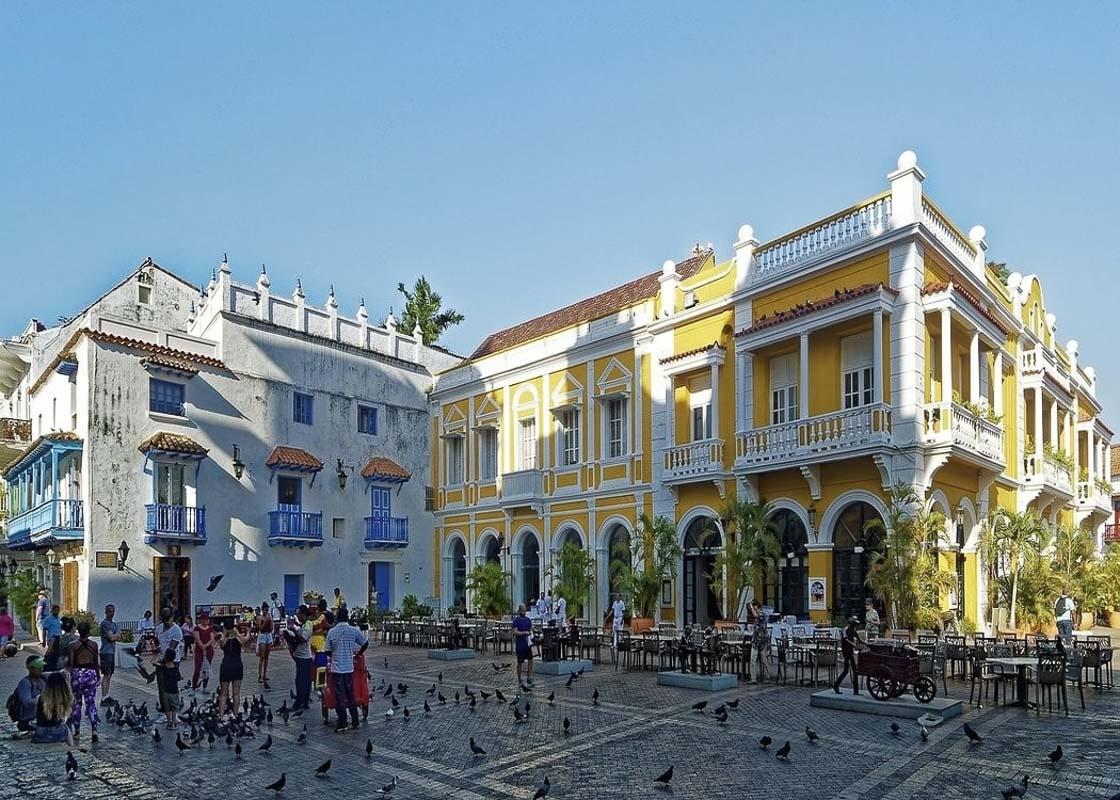 cartagena main square