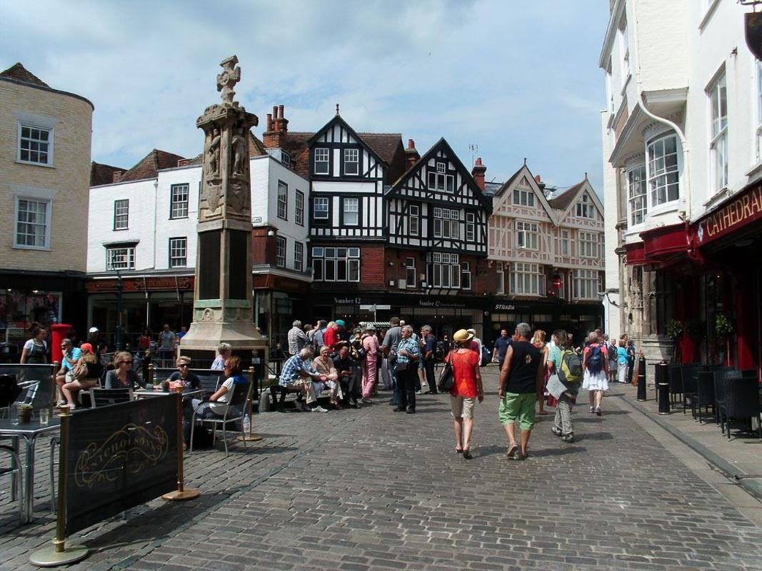 town centre in kent