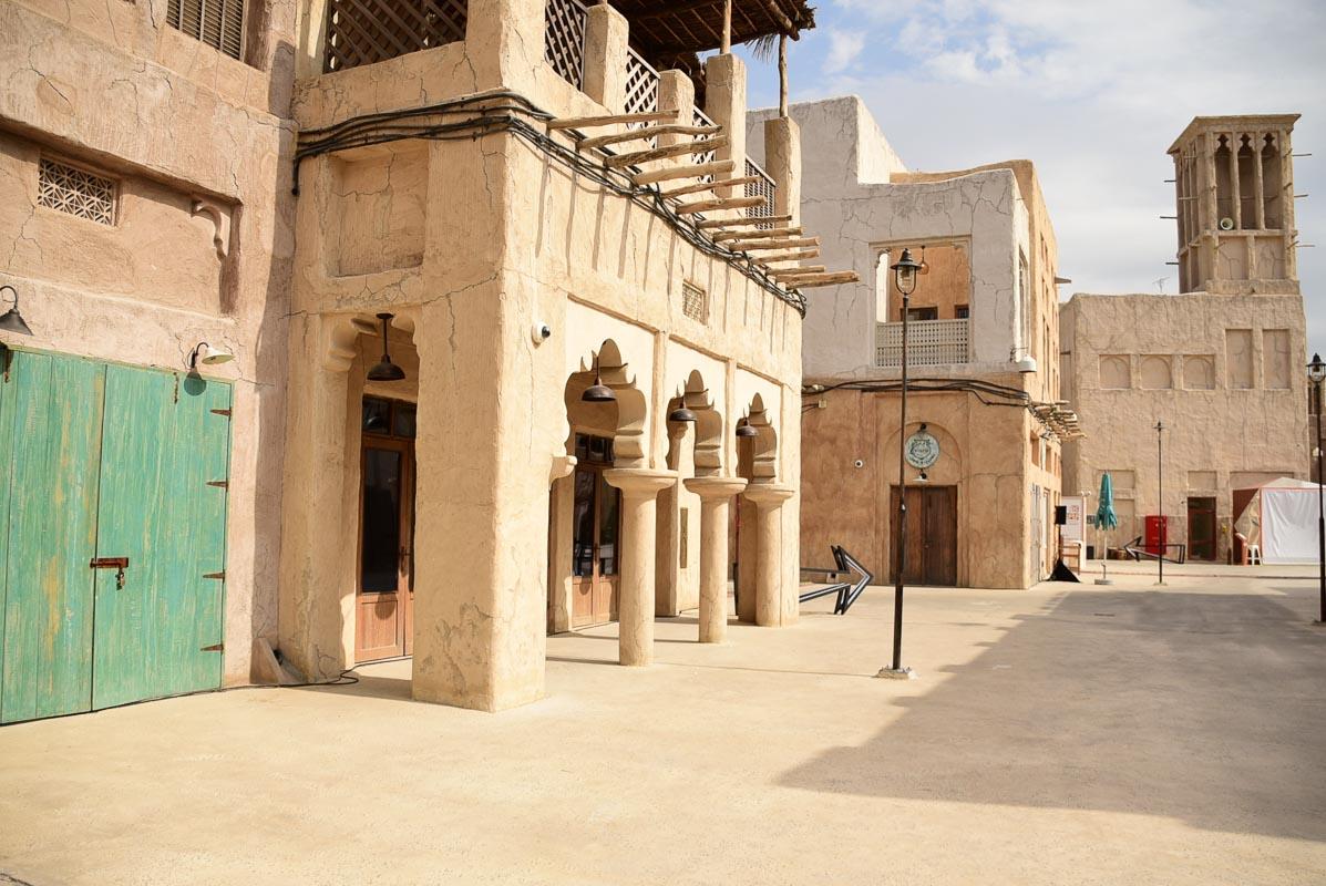 Dubai old town area 1