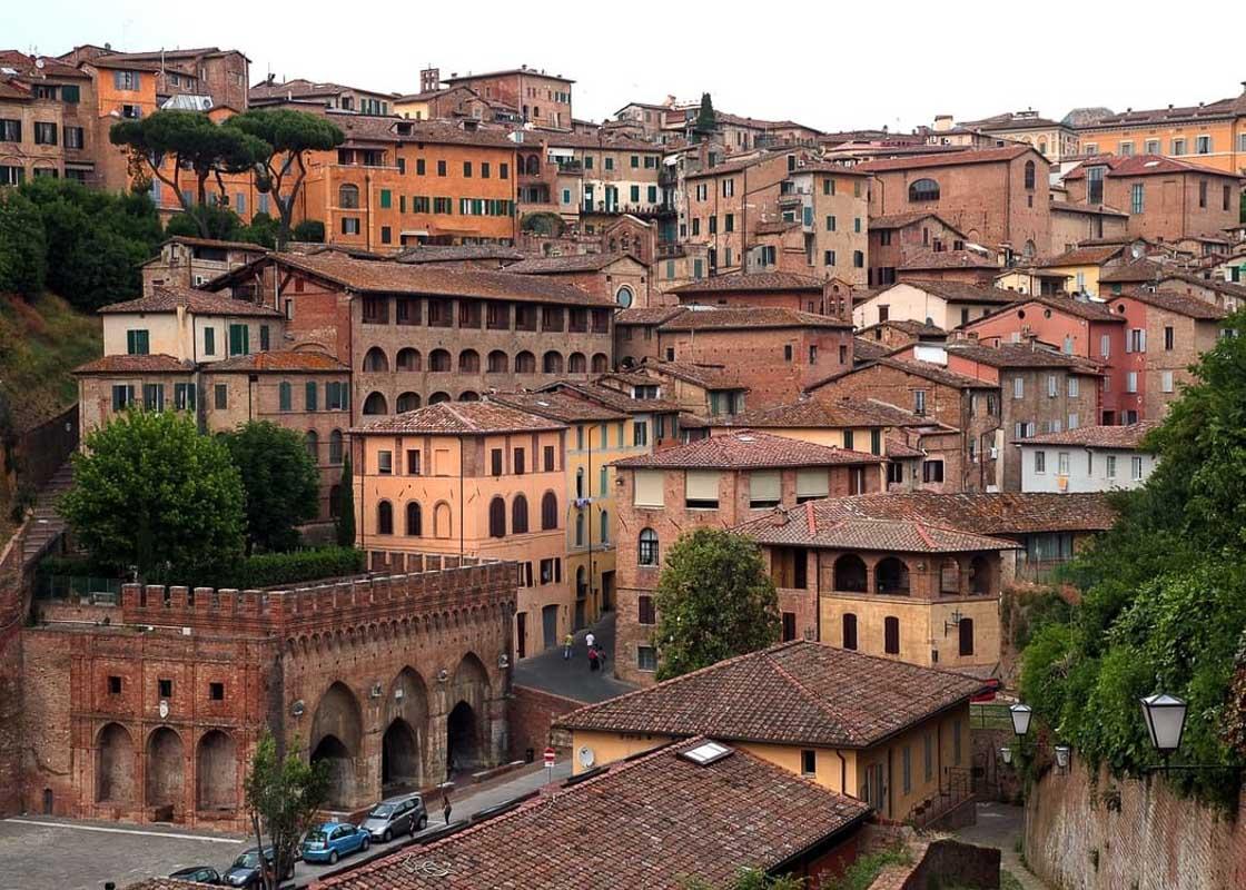 Siena-Tuscany rooftops