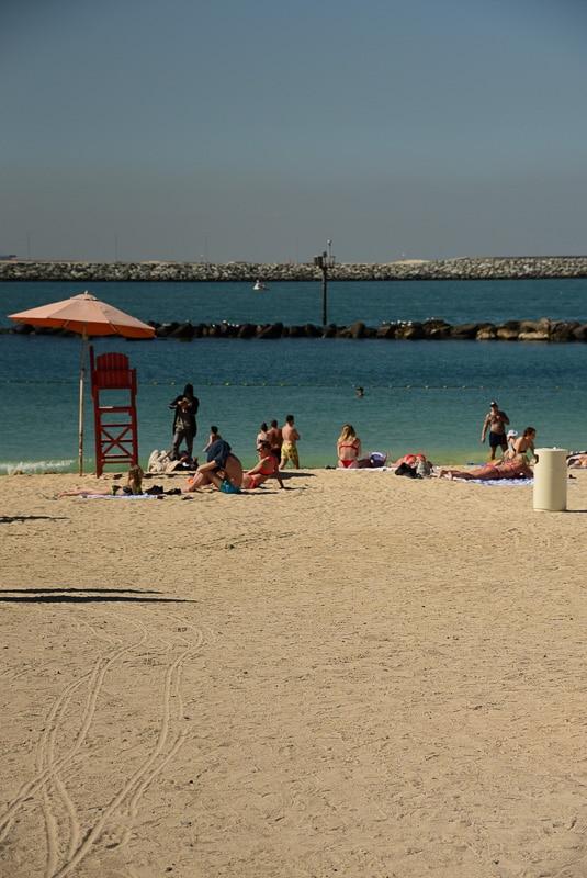 dubai la mer beach