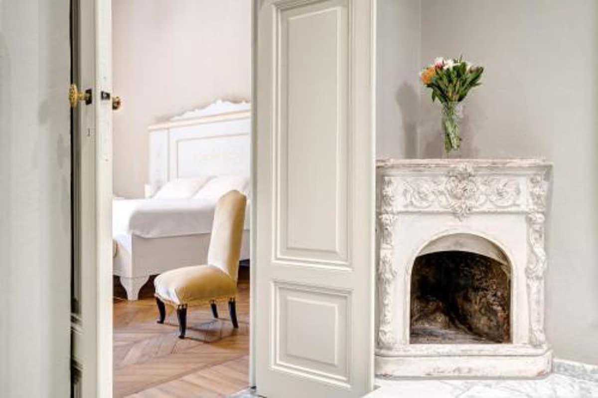 palazzo d'oltrarno bedroom tuscany