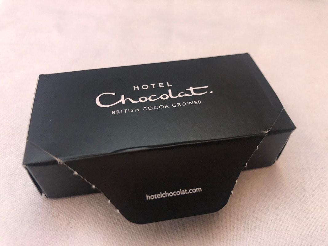 small hotel chocolat box