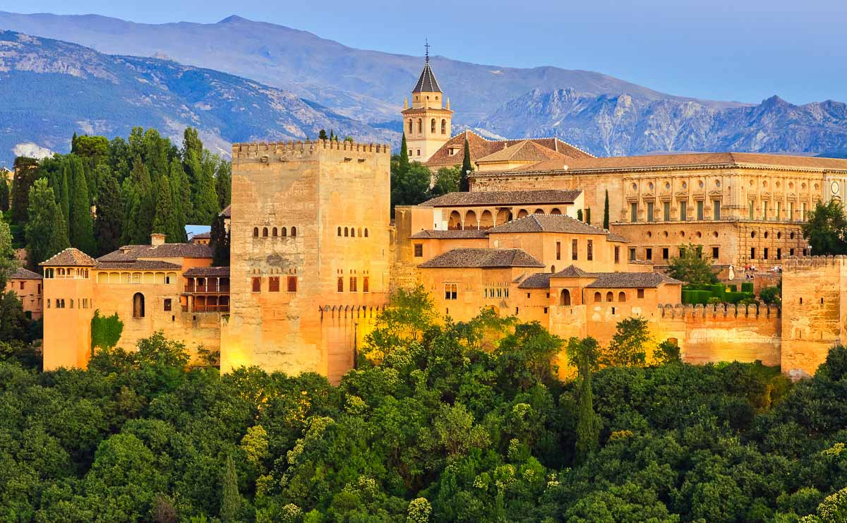 The Alhambra, one of the Spain famous landmarks