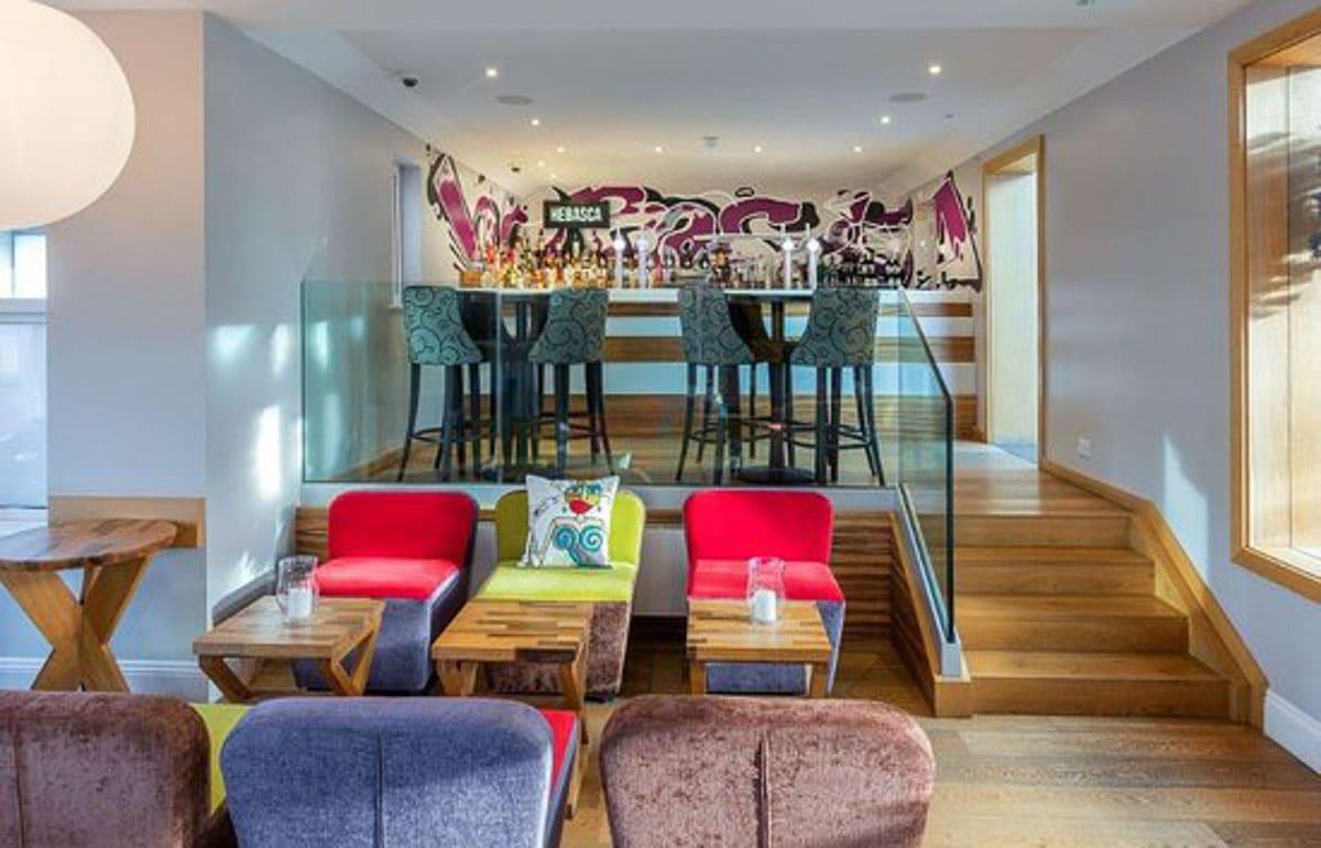 Hebasca Hotel interior Cornwall