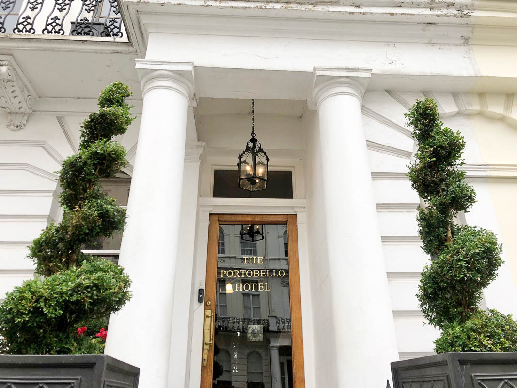 Notting Hill London Portobello hotel entrance