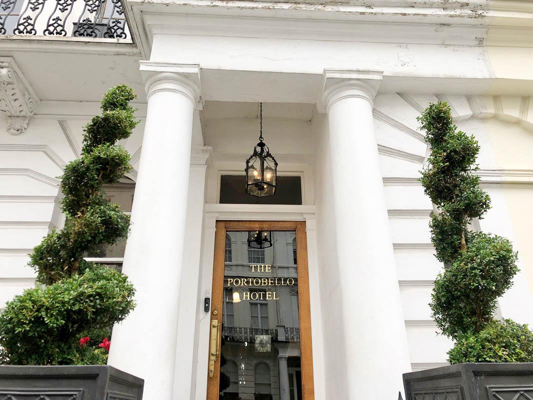 Notting Hill London Portobello hotel entrance