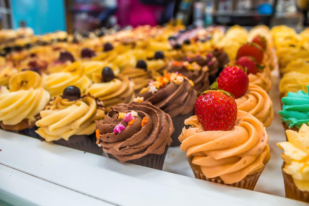 Notting Hill London cupcakes