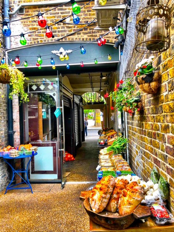 Notting Hill London italian shop