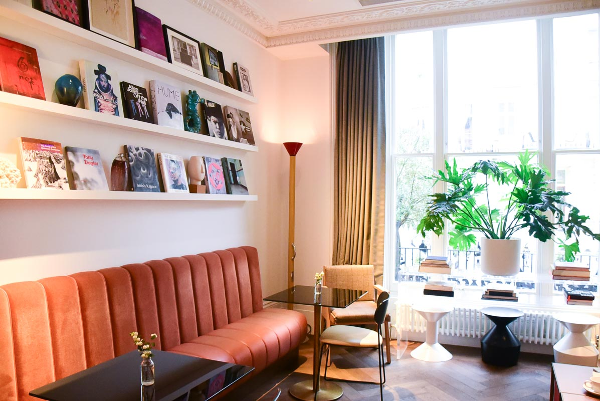 Notting Hill London laslett hotel breakfast room