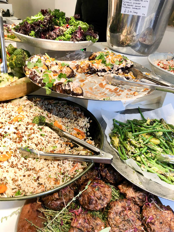Notting Hill London ottolenghi salads