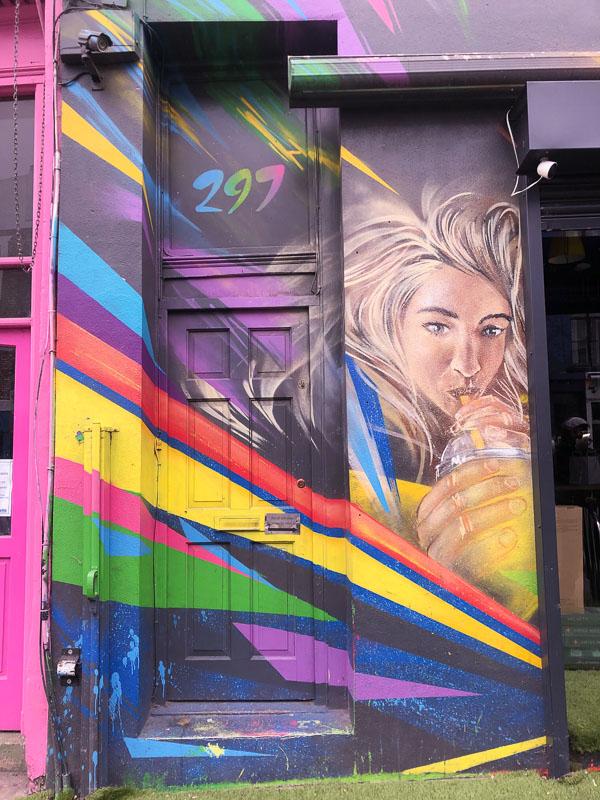 Notting Hill London street art
