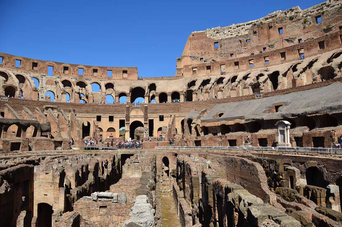Rome Colosseum Hypogeum skip the line colosseum