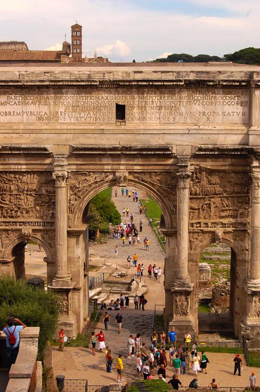 Rome Palatine Hill