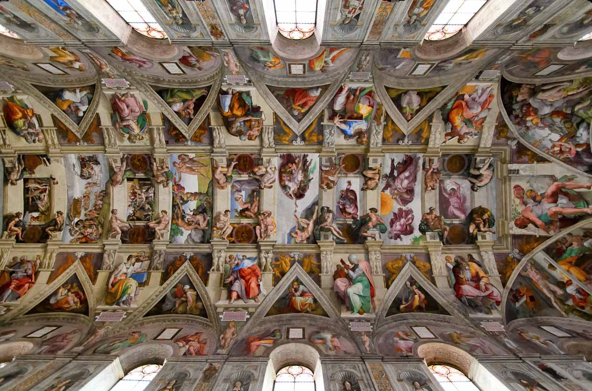 sistine chapel city facts about rome