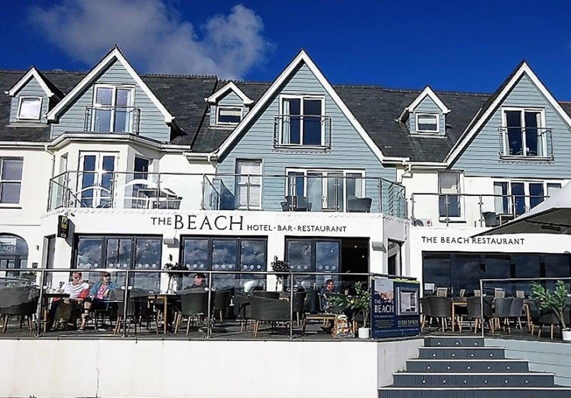 The Beach at Bude boutique hotel in cornwall