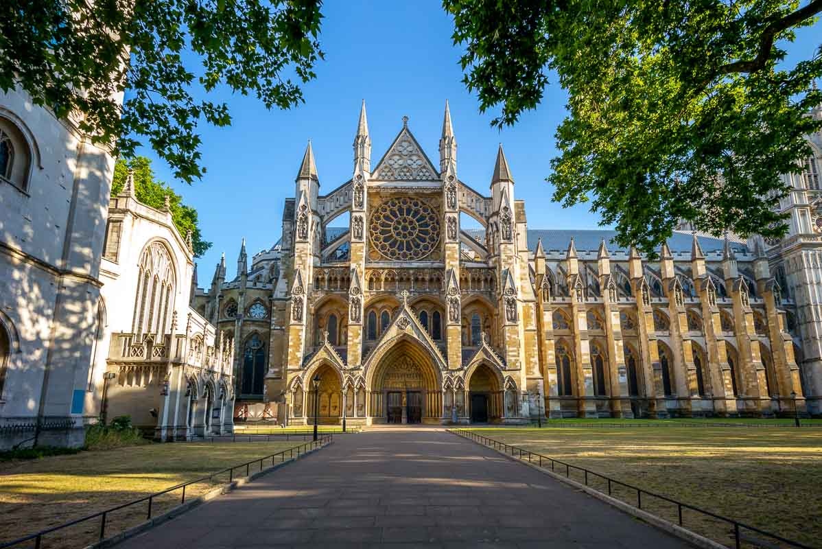 Westminster Abbey in london, england, uk