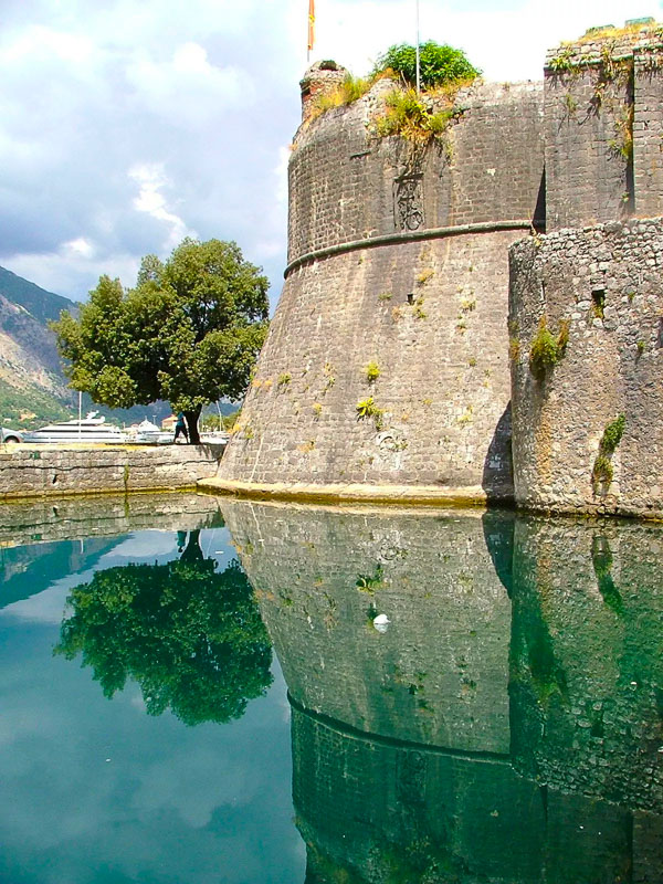 gated walls of kotor montenegro