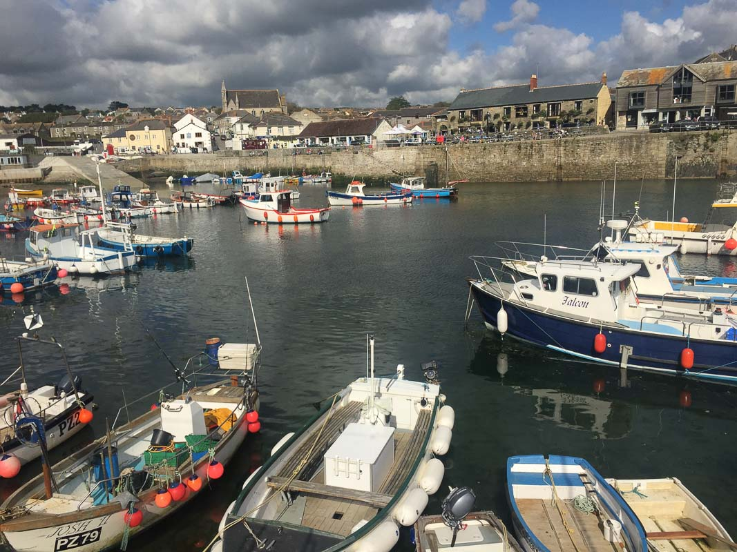 harbour in cornwall