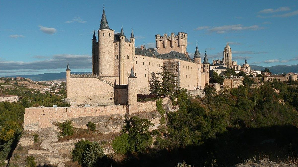 Alcazar Castle Spain exterior