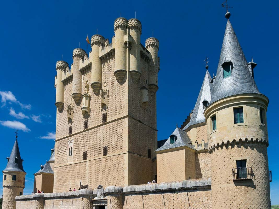 Alcazar Castle Spain towers