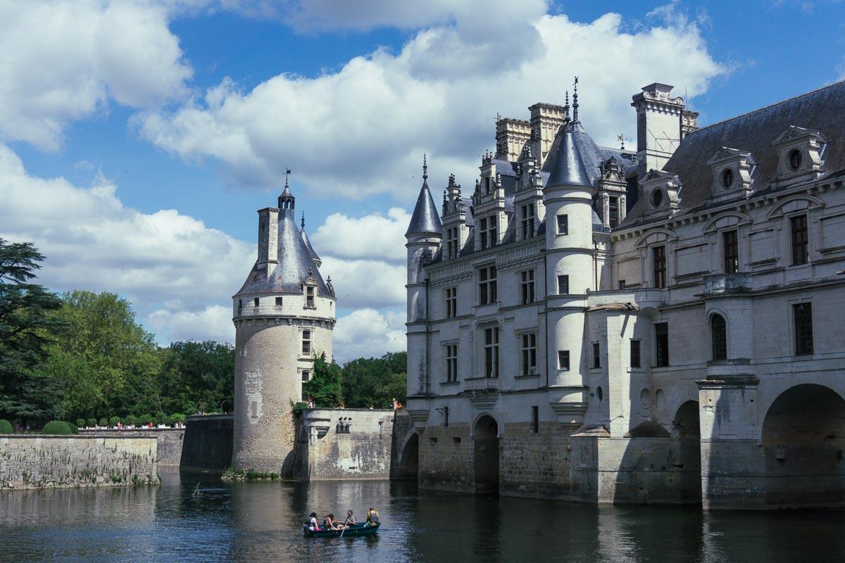 Chenonceau Castle exterior