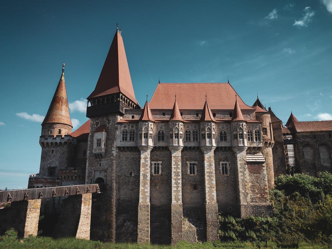 Corvin Castle Romania exterior