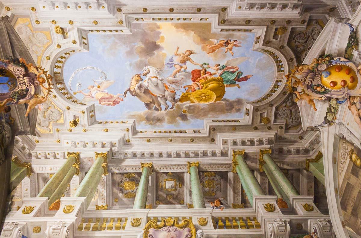 Frescos Palazzo Pitti Florence